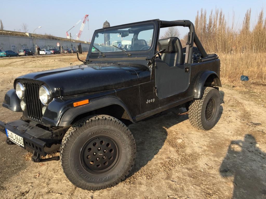 Einer unserer Jeeps