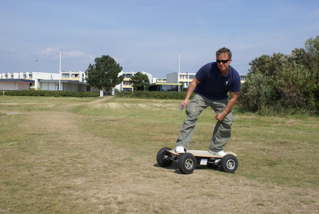 Mit dem Elektro Skateboard fing es an