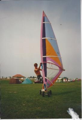 DIY Windskater im Jahr 1988
