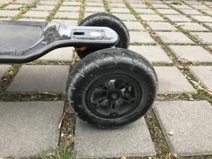 electric skateboard all terrain wheels