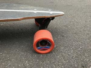 electric skateboard street wheels