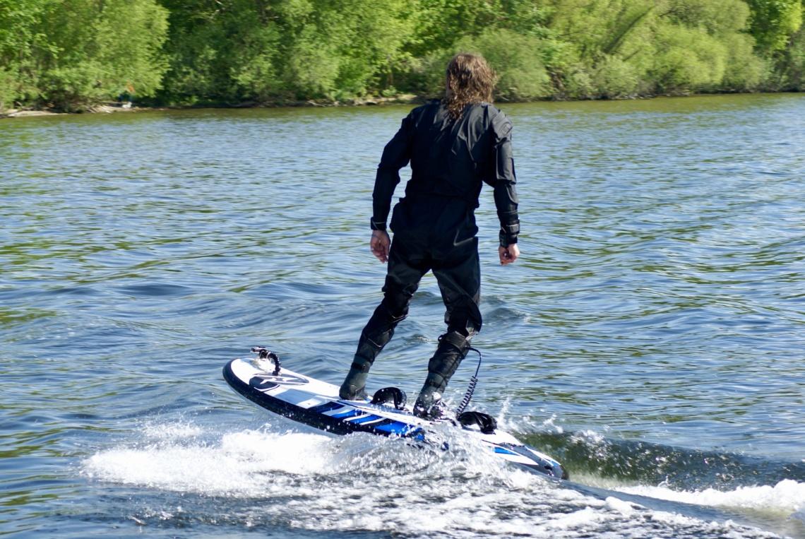ONEAN CARVER - Elektro Surfbrett Test