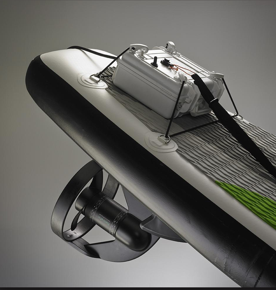 ElectraFin electric SUP surfboard from Current Drives