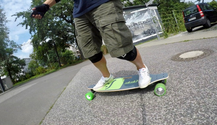 Nuff Skateboard Test