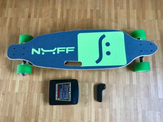 Nuff electric skateboard review