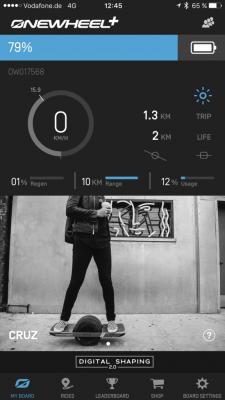 Onewheel App