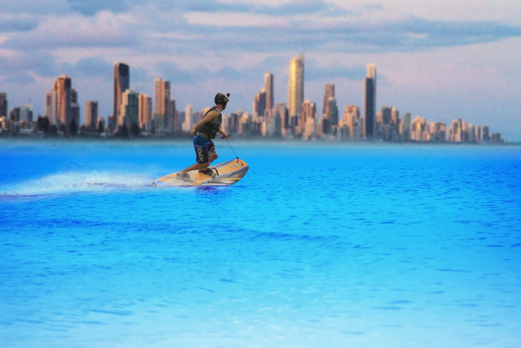 Electric Surfboards from Australia
