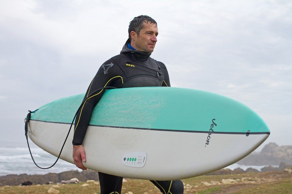 Jetson wave surfing with motor