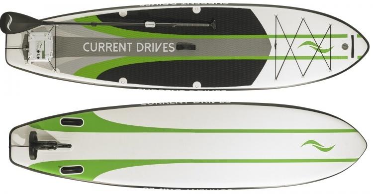 Motorised surfboard