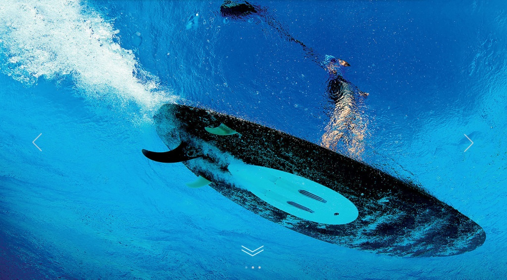electric wave surfing powered by wavejet