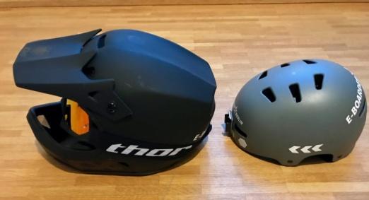 Elektro Skateboard Helm