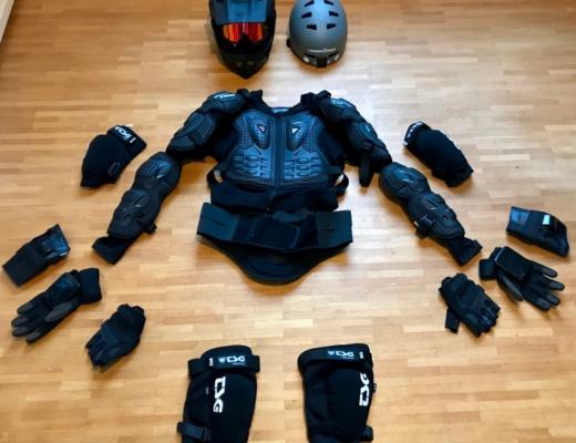 Elektro Skateboard Schutzausrüstung
