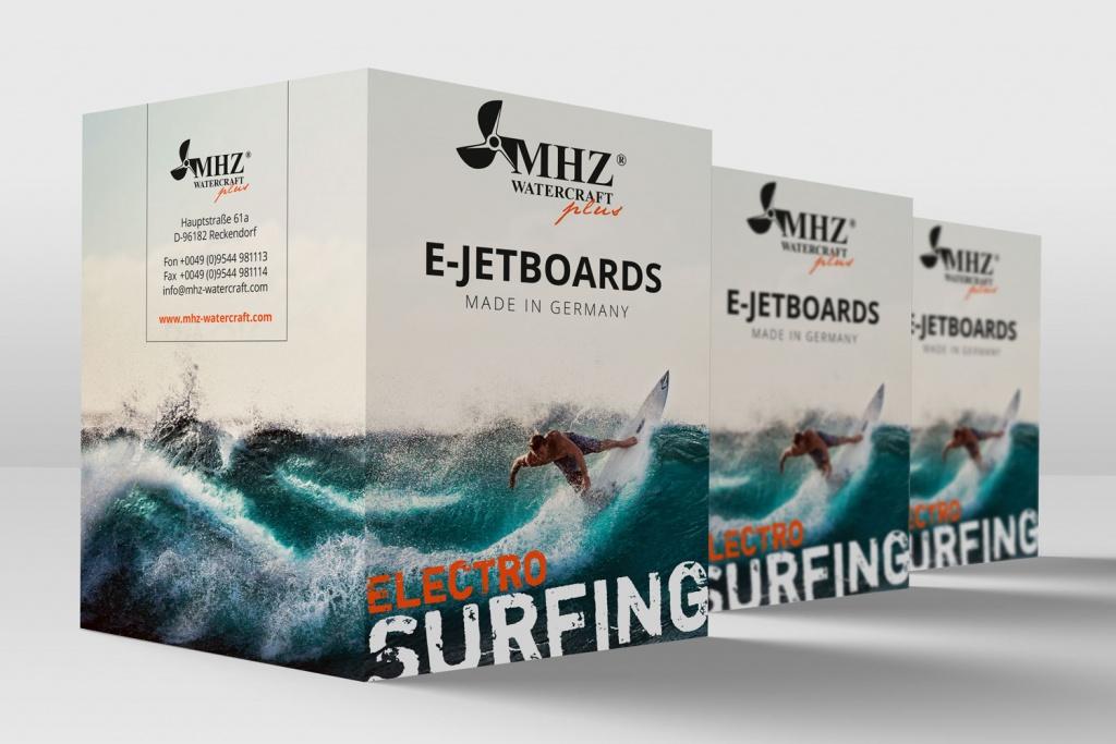 DIY Elektro Surfbrett Teile von MHZ Watercraft