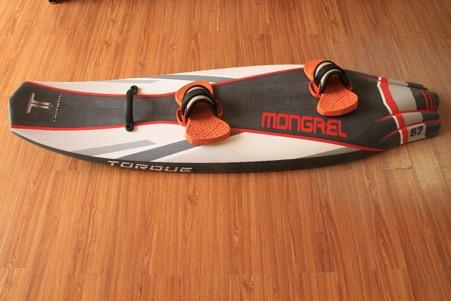 Torque electric surfboard