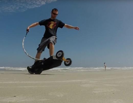 Triborg Skateboard