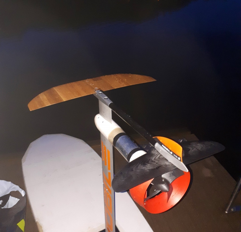 Using a Nobile Hydrofoil
