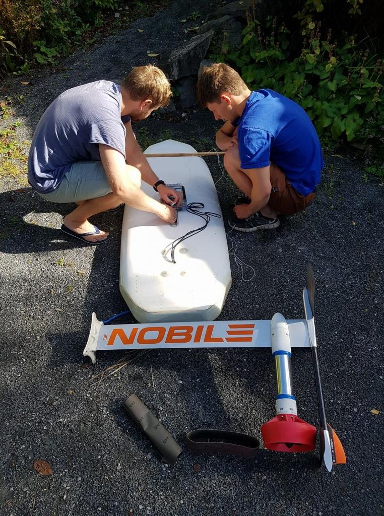 electric hydrofoil team