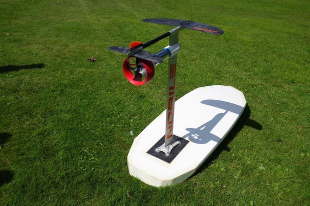 DIY Elektro Hydrofoil