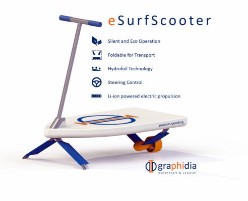 Hydrofoil Scooter