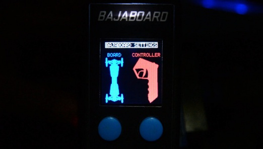 Bajaboard remote controller display