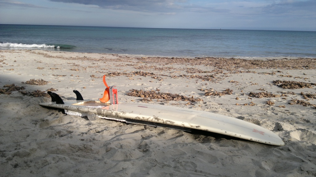 Prototype Waterwolf e-surfboard from 2011- pic 2