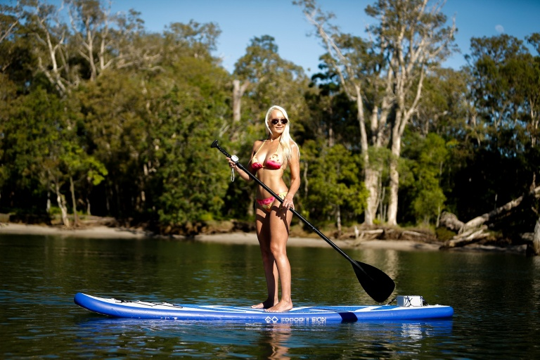 electric paddle board