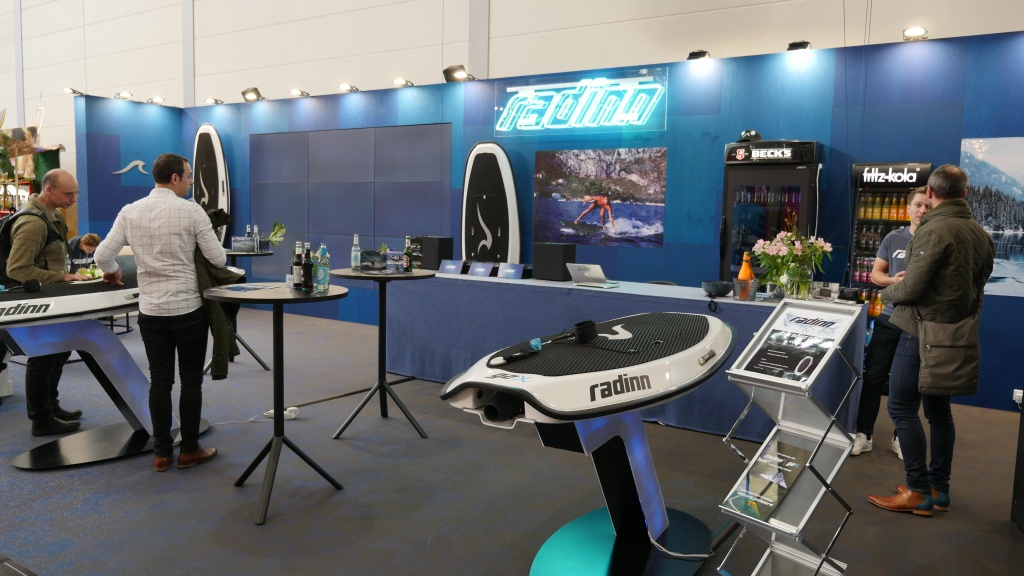Radinn booth at boot 2018