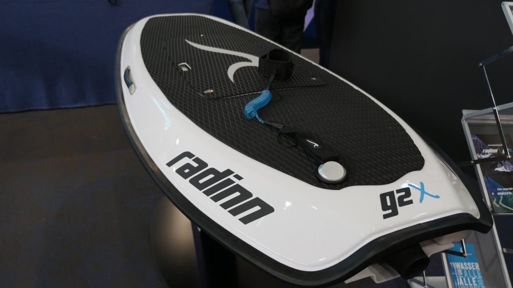 Radinn g2X electric surfboard
