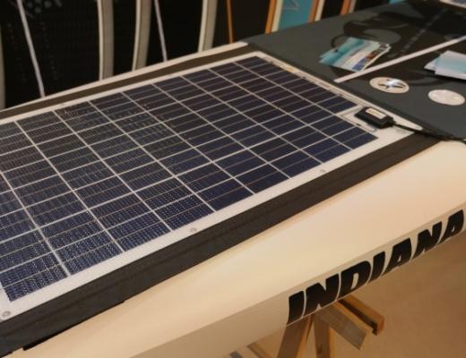 Solar Panel für das E-SUP