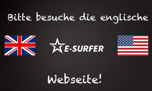 E-Surfer auf englisch.