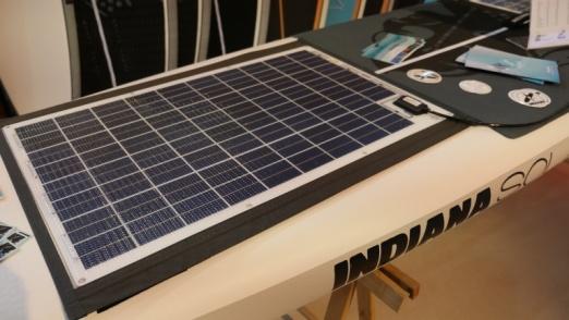 solar module for the E-SUP