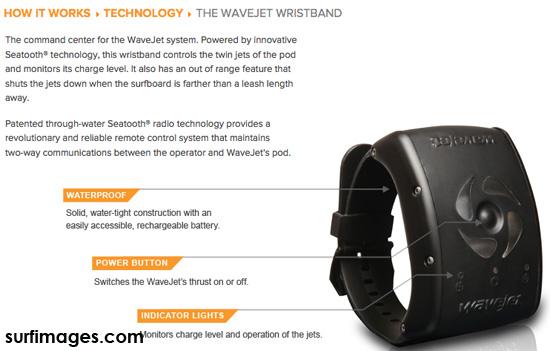Wavejet remote control