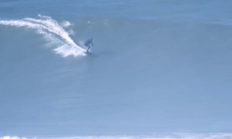 Big Wave Surfing with a jetboard