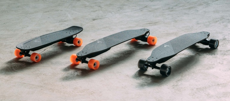 Boosted Stealth skateboard