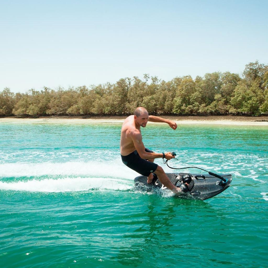 petrol powered surfboard