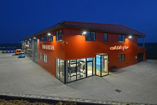 Jetsurf HQ in Brno, Czech Republic