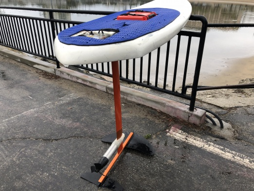 how to ride a hydrofoil