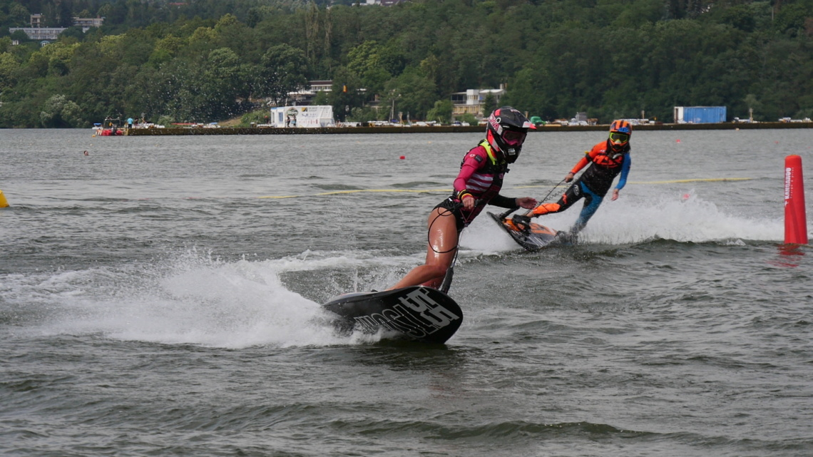 Women race at MotoSurf WorldCup