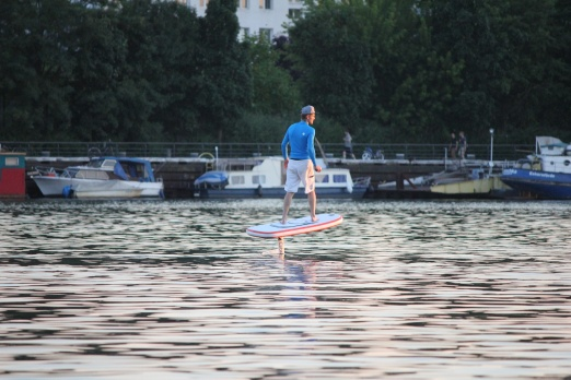 Electric Hydrofoil lesson