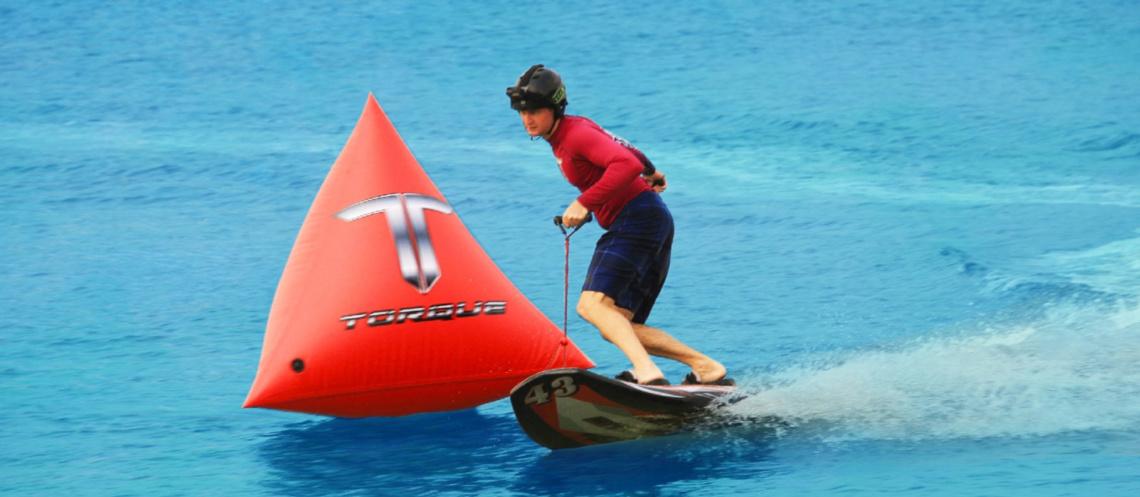Torque jetboard race track