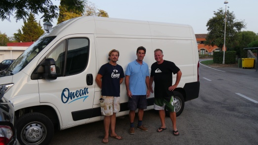 E-Surfer meets Onean team for test rides