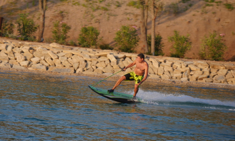 Torque surfboard