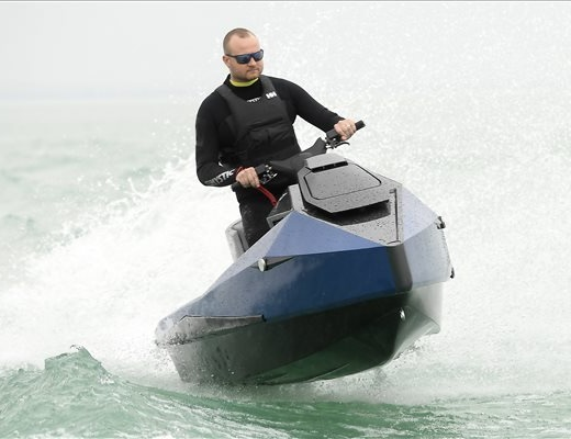 electric jetski from Hungary