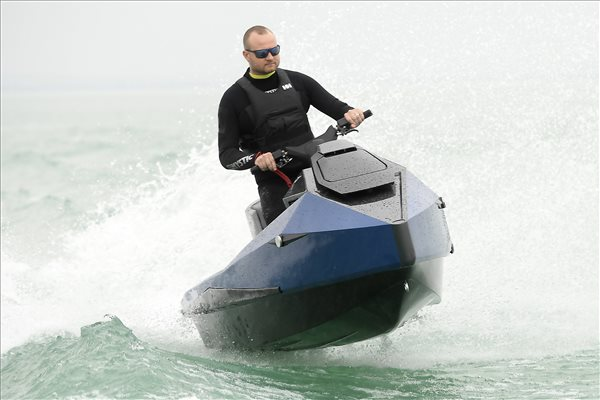 electric jetski from Hungary