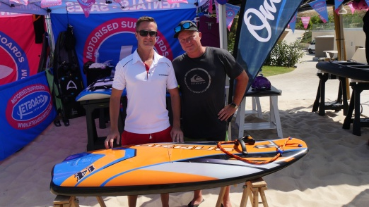 E-Surfer meets Torque's Dean Jarrett