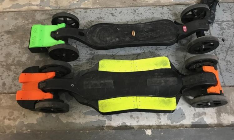 Faraday Motion Elektro Skateboard