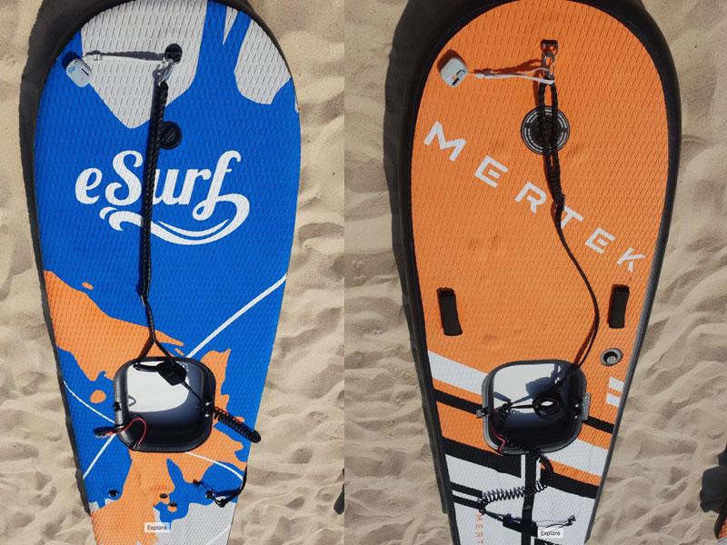 Mertek versus eSurf-S1