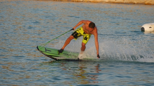 Udo from Jetboard Limited Germany riding the Xtream