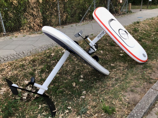 CabraTec inflatable hydrofoil