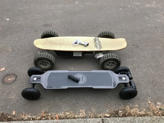 Electric Skateboard overview